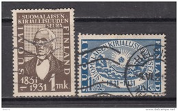 1931   YVERT  Nº    159 / 160 - Finlandia