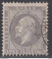 1856   YVERT Nº 3 - Noruega