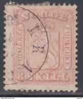 1863   YVERT Nº 9 - Noruega