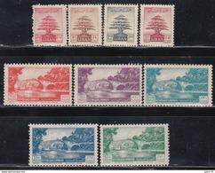 1951   YVERT Nº 69 / 77    /*/, - Líbano