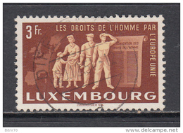 1951  YVERT  Nº  447 - Luxemburgo