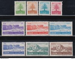 1952   YVERT Nº  78 / 87     /*/, - Líbano