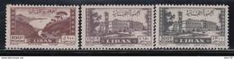 1947-1949   AÉREO, YVERT Nº 25, 26, 28,    /*/, - Líbano