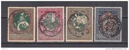 1914  MICHEL  Nº  99 A / 102 A - 1857-1916 Empire
