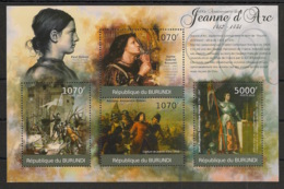 Burundi - 2012 - N°1373 à 1376 - Jeanne D'Arc - Neuf Luxe ** / MNH / Postfrisch - Cote 18€ - Sonstige