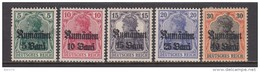 RUMÄNIEN    -   1917   MICHEL  Nº  4 / 7     / * / - Occupation 1914-18