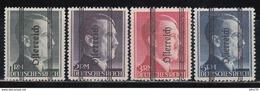 1945  YVERT Nº  572, 573, 574, 575,  /*/ - 1945-.... 2ª República