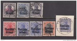 RUMÄNIEN    -   1917   VARIOS  SELLOS - Occupation 1914-18