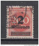 1923   MICHEL  Nº 309 A P B   -- Geprüft -- - Usados