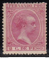 1894-1896   EDIFIL Nº 13  /*/, - Fernando Po