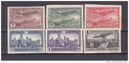 1931   EDIFIL  Nº  614 S / 619 S   / * / - 1889-1931 Königreich: Alphonse XIII.