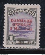 1945   YVERT Nº 18 A  /*/ - Groenlandia