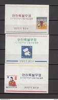 1960   YVERT  Nº 33 , 34 , 35 ,     / ** / - Corea Del Norte