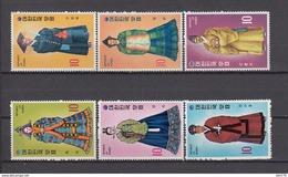 1973   YVERT  Nº 740 / 745     / ** / - Corea Del Norte