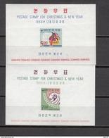 1966   YVERT  Nº 121 / 122    / ** / - Corea Del Norte