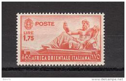 1939    Sassone  Nº   14    / ** / - Eastern Africa