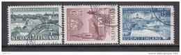 1949   YVERT  Nº 356 / 358 - Finland