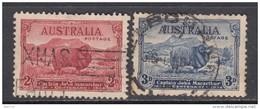 1934   YVERT  Nº  97 , 98 - Usados