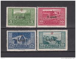 1924   MICHEL  Nº  96 / 99   / ** / - Albania
