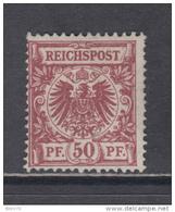 1889   MICHEL  Nº  50a     ( * )    -- KURZBEFUND -- - Deutschland