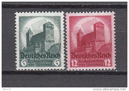 1934    MICHEL  Nº 546 / 547     / ** / - Alemania