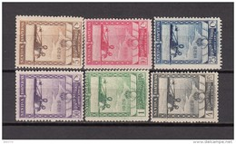 1929   EDIFIL  Nº  448 / 453  / * / - 1889-1931 Königreich: Alphonse XIII.