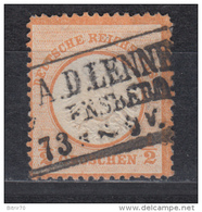 1872   MICHEL   Nº  18 - Gebraucht