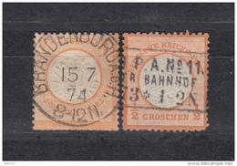 1872   MICHEL   Nº  18 - Deutschland