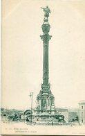 BARCELONA - MONUMENTO A COLON. ESPAÑA CIRCA 1900's NON CIRCULE CARTE POSTALE POSTAL CPA  - LILHU - Barcelona