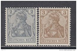 1902    MICHEL  Nº  68 , 69   / ** / - Germany
