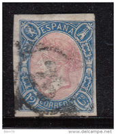1865   EDIFIL   Nº 70 - 1850-68 Reino: Isabel II