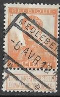 9W-944: MEULEBEKE: N°116: Spoorwegstempel - 1912 Pellens