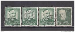 1951 - 1953   MICHEL  Nº  144 , 174 - [7] Federal Republic