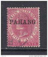 1890 - 91   YVERT  Nº 1a  II - Pahang