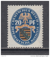 1925   MICHEL   Nº    377   / ** / - Germany