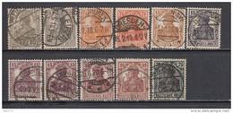 1916 - 20    MICHEL  Nº  98 / 100 , 101 , 102 / 104 , - Alemania