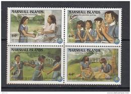 YVERT  Nº 132 / 135   / ** / - Islas Marshall