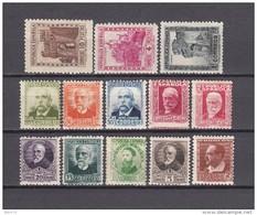 1932   EDIFIL  Nº  662 / 675   / * / - 1931-50 Nuevos & Fijasellos