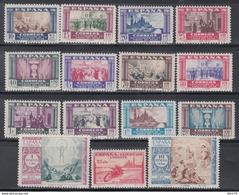 1940  EDIFIL Nº 889 / 903   /*/, Centenario De La Virgen Del Pilar - 1931-50 Nuevos & Fijasellos