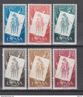 1956 EDIFIL Nº 1200 / 1205  /**/ - 1931-Hoy: 2ª República - ... Juan Carlos I