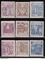 1944  EDIFIL Nº 974 / 982  MNH - 1931-50 Nuevos & Fijasellos