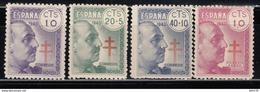 1940   EDIFIL Nº 936 / 939  MNH - 1931-50 Nuevos & Fijasellos
