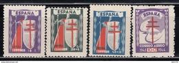1943   EDIFIL Nº 970 / 973   MNH - 1931-50 Nuevos & Fijasellos