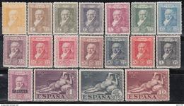 1930 Edifil Nº 499 / 516  /*/ - 1889-1931 Königreich: Alphonse XIII.