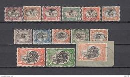 1903     YVERT  Nº  53 / 66 - Frans-Somaliland (1894-1967)