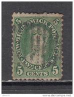 1860 - 1863    YVERT  Nº 6 - Nuevo Brunswick