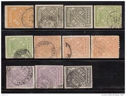 1889  VARIOS  SELLOS - Brasil