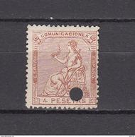 1873   EDIFIL  Nº  139 T - 1873-74 Regencia