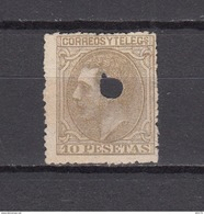 1879   EDIFIL  Nº  209 T - 1875-1882 Koninkrijk: Alfonso XII