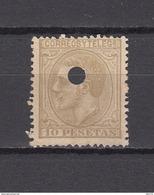 1879   EDIFIL  Nº  209 T - 1875-1882 Reino: Alfonso XII